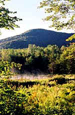Burnt Mountain from the Moosewood Ponds - Photograph by Rolf Anderson
